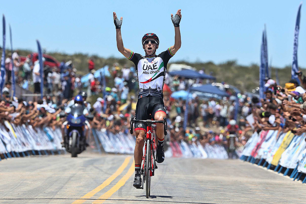 Rui Costa remporte l'étape-reine à l'Alto Colorado