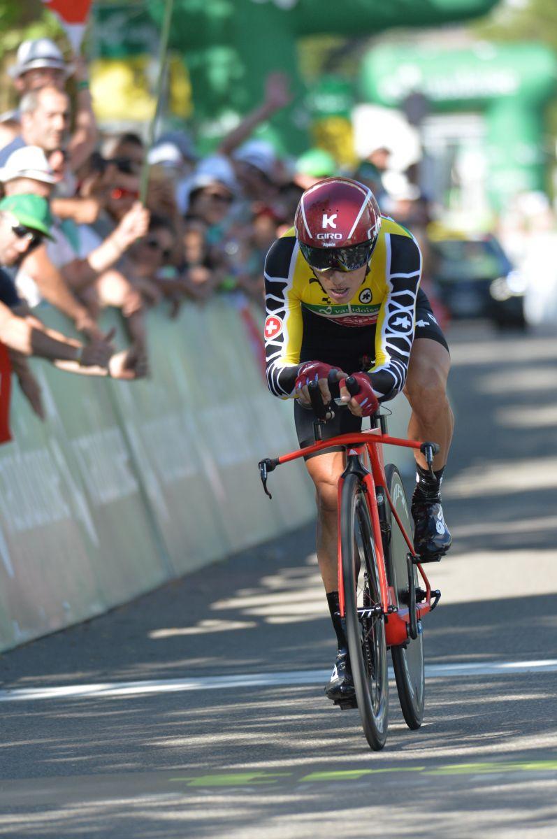 Simon Spilak est le vainqueur final du Tour de Suisse