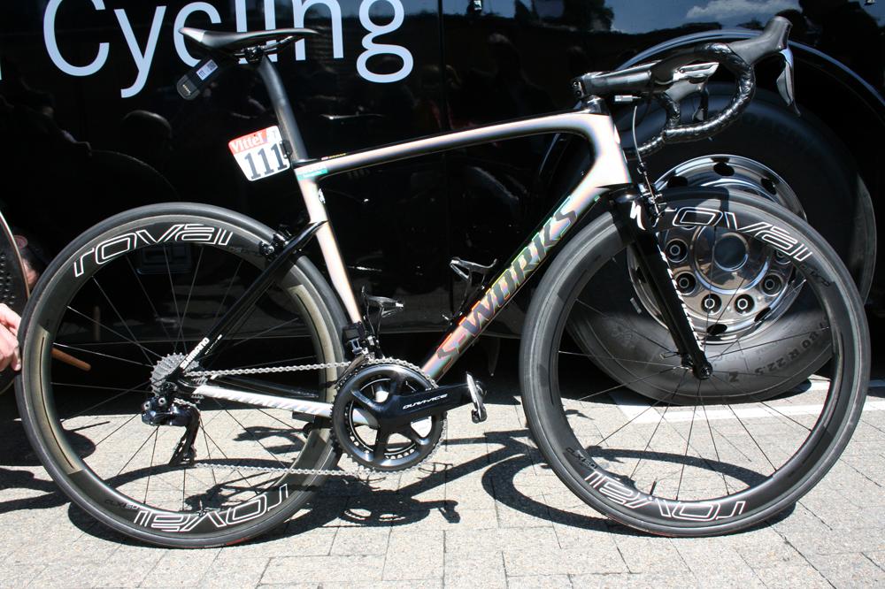 Dylan Teuns remporte la troisième étape du Tour de Pologne