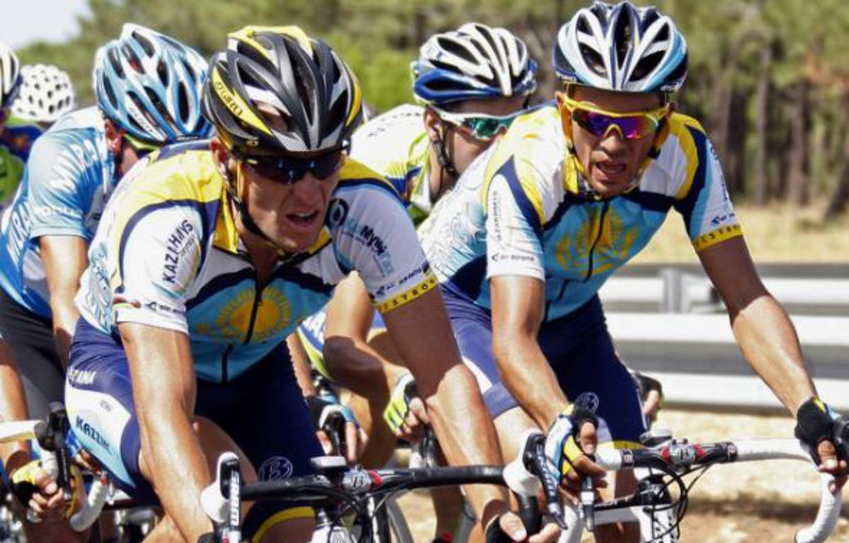 Sur le Tour de France 2009, Contador a du composer avec la présence d'Armstrong