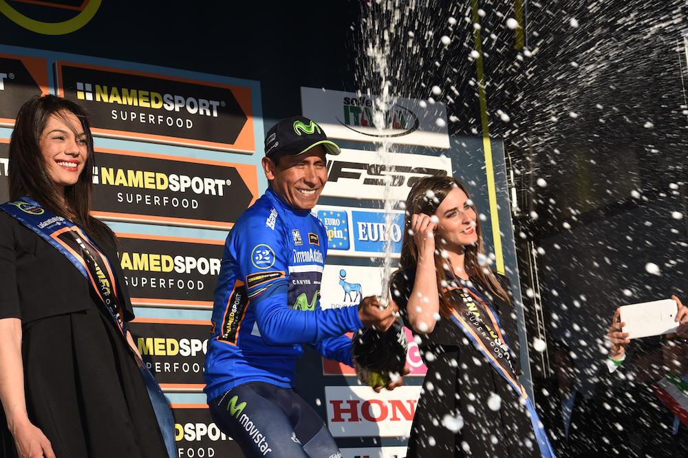 Nairo Quintana en tête de Tirreno-Adriatico