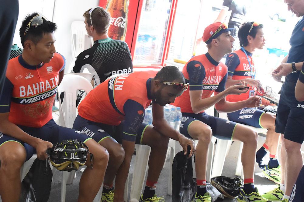 L'équipe Bahrain-Merida