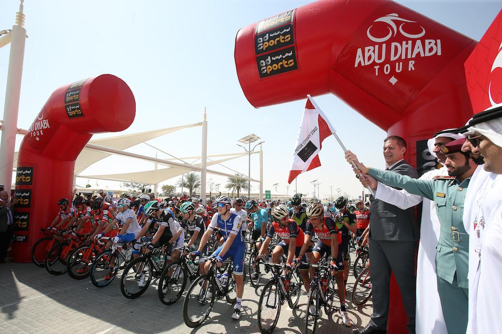 Départ du Tour d'Abu Dhabi !