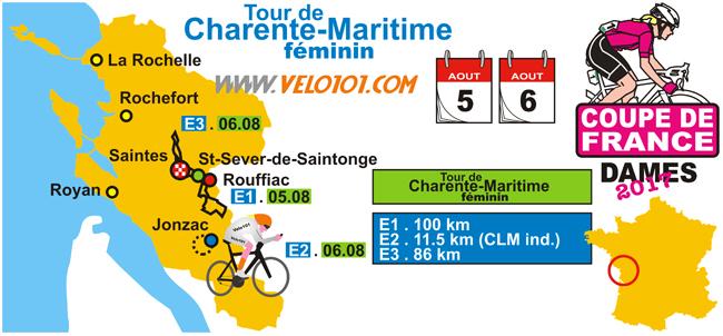 Tour de Charente-Maritime féminin 2017