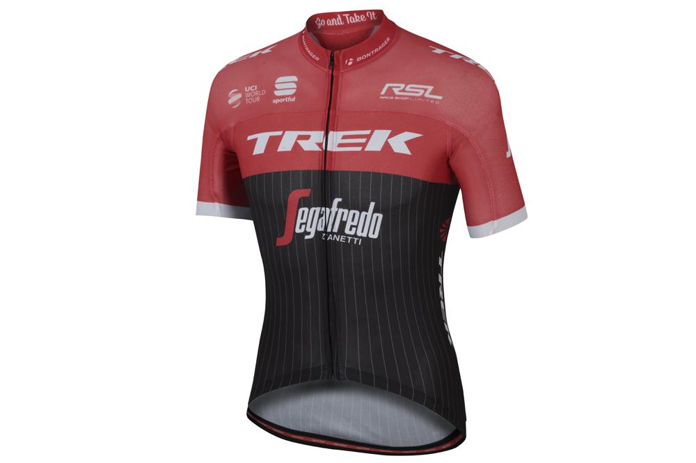 Le maillot Sportful de Trek-Segafredo