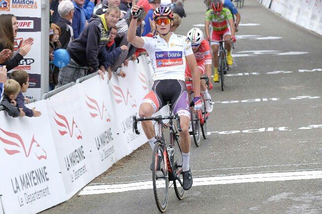 Cyclisme. Boucles de la Mayenne : Van der Poel nouveau leader