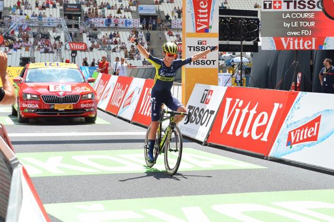 Van Vleuten s'impose à Marseille sur La Course