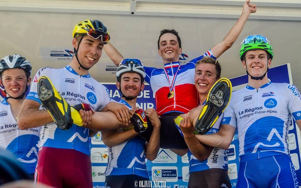 Victor Lafay champion de France Espoirs