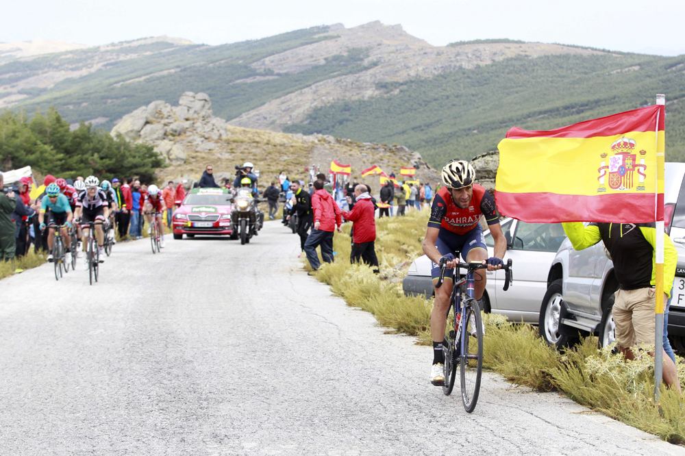 Tour d'Espagne - VIDÉO. Quand le vélo de Chris Froome avance tout seul…