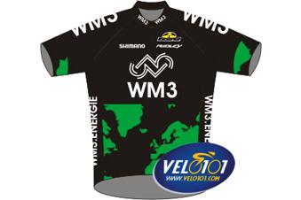 Le maillot de WM3 Energie