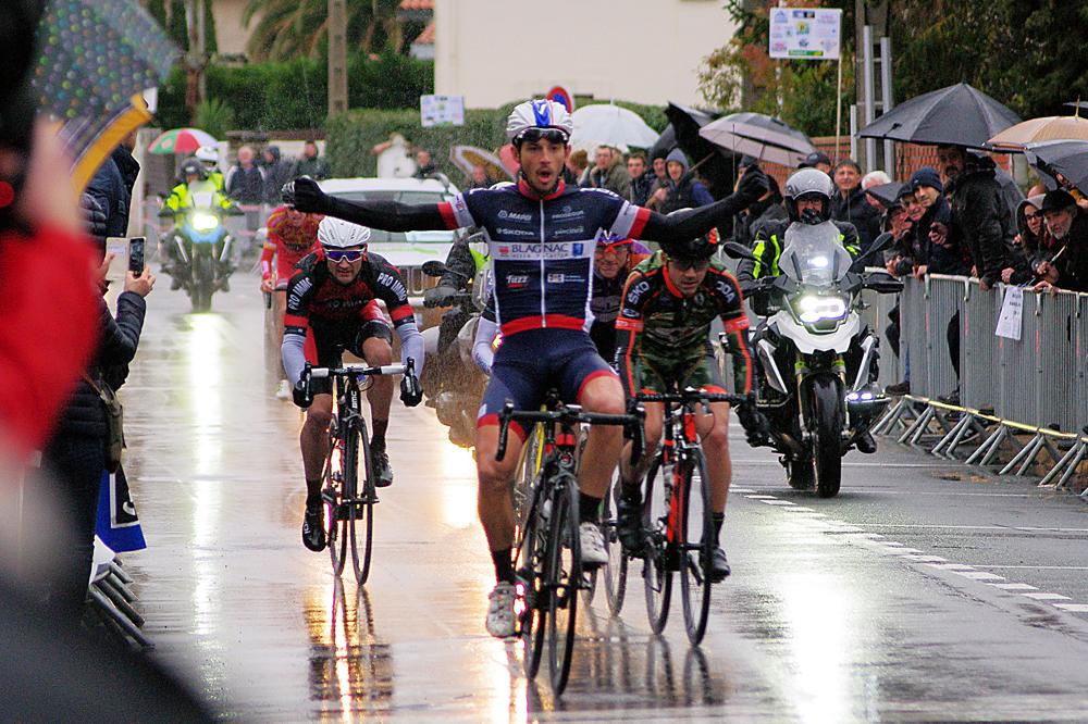 Yoan Verardo premier vainqueur de l'année à Boucau