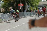 Accrochage Maldonado Bouhanni Tour de l'Ain