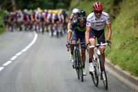 Alberto Contador et Nairo Quintana à l'attaque