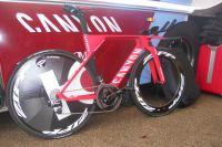 Le Canyon Speedmax CF SLX de Katusha-Alpecin