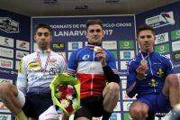 Le podium du Championnat de France Espoirs