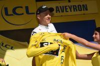 Chris Froome a récupéré son maillot jaune