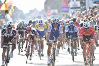 Tom Boonen dans le sprint de Gand-Wevelgem