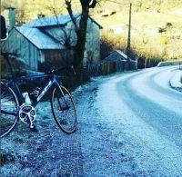 entrainement cycliste mi novembre