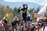 Alejandro Valverde conquiert sa cinquième Flèche Wallonne