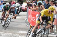 Froome, Bardet et Aru, podium provisoire du Tour