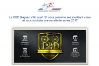Les vœux du GSC Blagnac-Vélo Sport 31