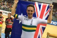 Jordan Kerby, vainqueur de la poursuite