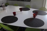 L'espace restaurant pour les coureurs Direct Energie