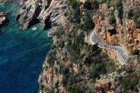 La Corse vue du ciel sur l'Explore Corsica