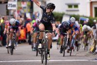 Annette Edmondson au finish