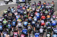 Le peloton féminin sur la Flèche Wallonne 2017
