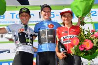 Le podium de BeNe Ladies Tour 2016