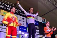 Le podium du Championnat du Monde CX Espoirs