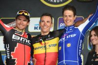 Le podium du Tour des Flandres 2017