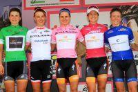 Le tableau d'honneur du Giro Rosa 2016