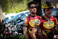 Le Team Probikeshop Saint-Etienne Loire avant le départ