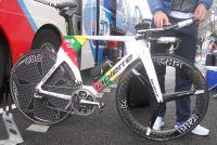 Le vélo Lapierre du coureur de la FDJ Ignatas Konovalovas
