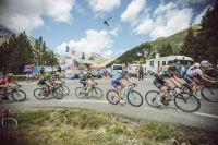 Les filles de la course by le Tour dans l'Izoard