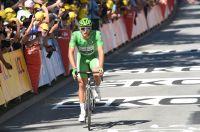 Marcel Kittel passe la ligne à Vittel sans avoir pu disputer le sprint