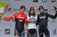 Le podium de Kuurne-Bruxelles-Kuurne