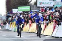 En costaud, Arnaud Démare devance Julian Alaphilippe