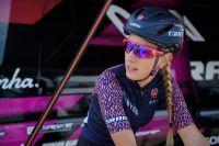 Pauline Ferrand-Prévot avec le maillot Canyon SRAM