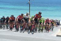 Le peloton du Tour Down Under