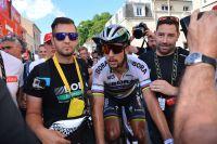 Peter Sagan après l'étape de Vittel