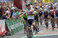 Les huit coureurs Katusha, Bora et LottoNL Jumbo