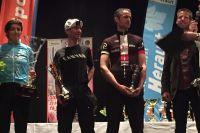 Le podium de l'Héraultaise