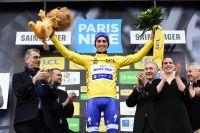 Julian Alaphilippe prend le maillot jaune de Paris-Nice