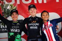 Podium du prologue du Lotto Belgium Tour 2017