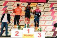 Podium du prologue du Tour de Thuringe 2017