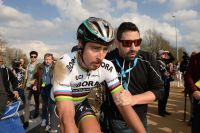 Peter Sagan fait grise mine