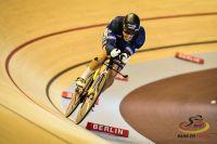 Quentin Lafargue médaille de bronze de la poursuite